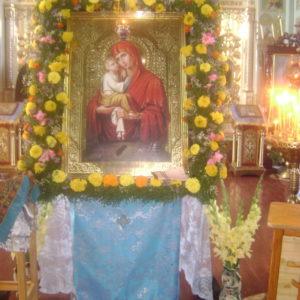 Престольне свято Почаївської ікони Божої Матері.